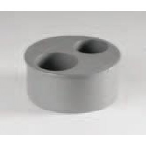 TAPÓN REDUCTOR VARIAS BOCAS PVC D: 110/40-40