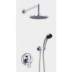 Conjunto ducha empotrada 2 funciones Mod: Baza 07 MR