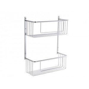 Jabonera rectangular doble lowcost 31x40x12  AC195 PYP