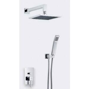 Conjunto ducha empotrada 2 funciones Mod: Catral MR