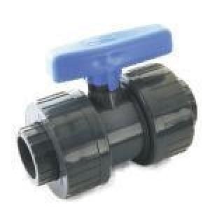 VALVULA PVC H-H ENCOLAR DESMONTABLE D:40mm