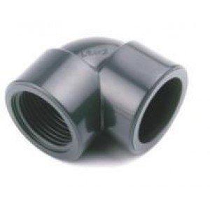 """Codo mixto  H-H  pvc presión pegar roscar D: 90mm x 3"""""""