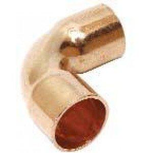 Curva cobre h - h  10x90º