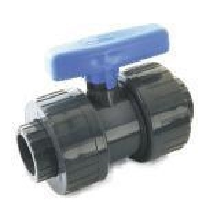 Valvula pvc h-hembra encolar desmontable D:25mm