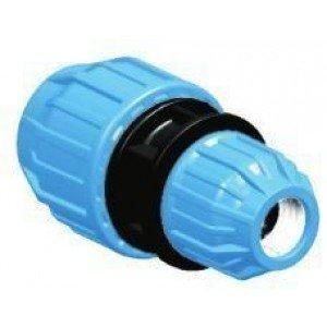 Manguito unión reducido H-H tubo polietileno D:63x50mm