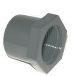 "Reducción mixta pvc presión macho pegar / hembra roscar D:50x1""1/4mm"