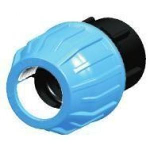 "Enlace mixto r/hembra tubo polietileno D:75x21/2"""
