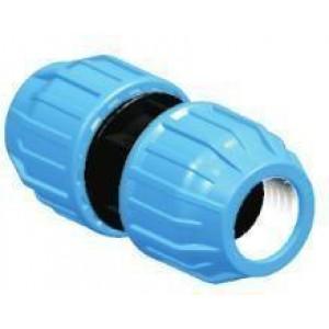 Manguito unión h/h tubo polietileno D:25mm