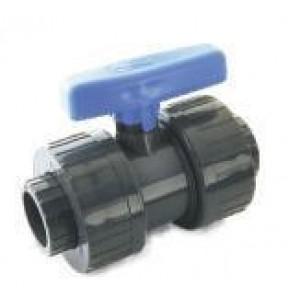 """Válvula pvc mixta desmontable h-pegar 75 / h-roscar 21/2""""     D:75mm x 2""""1/2"""