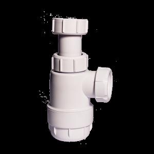 "Sifón botella sin válvula 1""1/4-32mm  SOLFLESS"