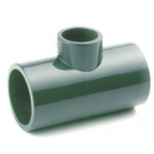 TE PVC REDUCIDA PRESIÓN ENCOLAR D:50x32mm