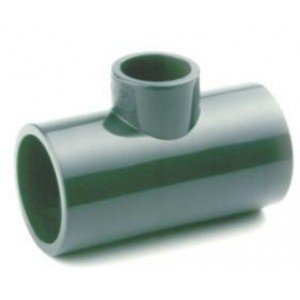 TE PVC REDUCIDA PRESIÓN ENCOLAR D:50x40mm
