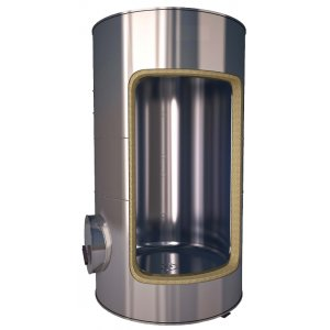 Acumulador en acero inox AISI-316  ( desde 200l. a 5000l. )