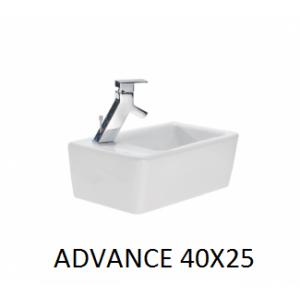 Lavabo Advance  40x25  UNISAN