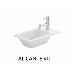 Lavabo sobre encimera Alicante (400x250X20) UNISAN