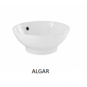 Lavabo Algar sobre mueble  (410x160) UNISAN