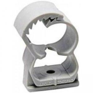 Abrazadera nailon Apolo  con tornillo taco fijación D: 20-25   (25 unid.)