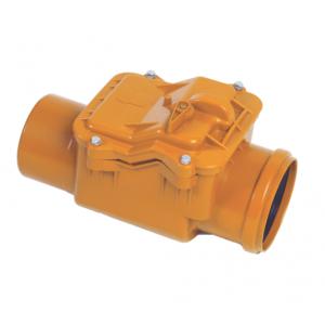 Válvula anti-retorno, anti-olores, anti-roedores con bloqueo  River  hasta 400mm