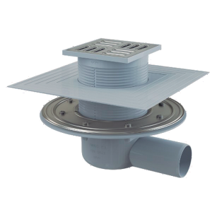 Sumidero para plato de ducha con anti-retorno   Solfless Bakir horizontal