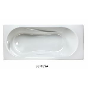 Bañera rectangular acrílica Benissa Unisan