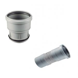 Manguito flexible / extensible reparador tubo 110
