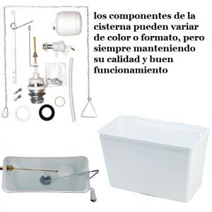 Conjunto completa cisterna alta pvc