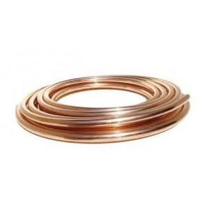 Tubo cobre recocido (rollos 50m) diametros 10-12-15-18