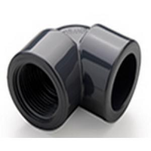 """Codo mixto h-h  pvc presión pegar / roscar D:50x1""""1/2mm"""