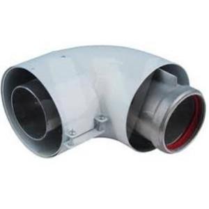 303610 Vaillant Codo 90º  s/ gases 80/125