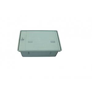 Caja contador agua  con tapa y cerradura