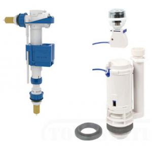 Conjunto mecanismo completo cisterna baja ( descarga, alimentacion y fijación)