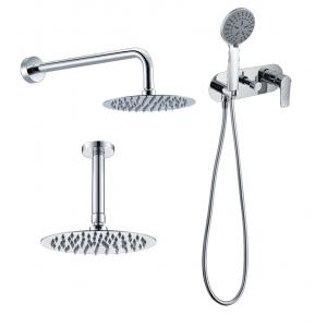 Conjunto ducha empotrado doble función compacto italia