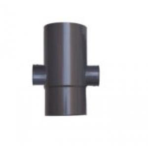 Corredera / Manguito doble boca  con 2 toma lateral   110X50X50 a 87,5º