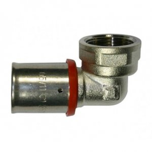 Codo mixto  multicapa 25 X 1/2""