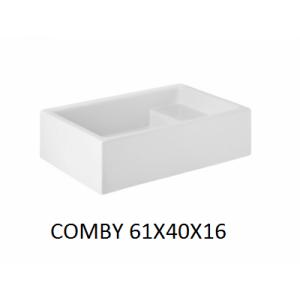 Lavabo Comby sobre mueble (61x40x16) UNISAN
