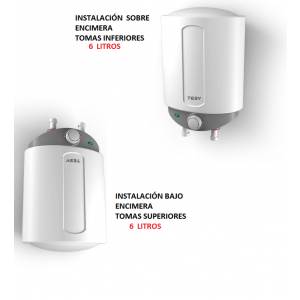 Termo eléctrico MINI compact  6 litros