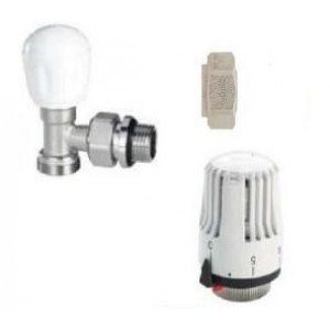 """Kit llave termostatica  m-m  con junta  1/2"""" (cobre 15)"""