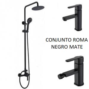 Conjunto Roma negro mate