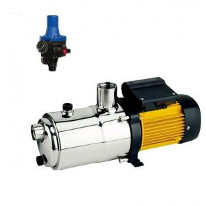 Conjunto bomba con control de bajo consumo ( Ideal para placa solares) Mod: TECNO 05 ESPA