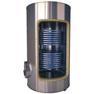 Interacumulador 2 serpentines acero inox  ( desde 150 lts a 5000 lts )