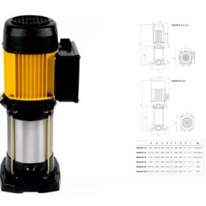 Bomba centrifuga multicelular vertical Multi  35-5 N   ESPA