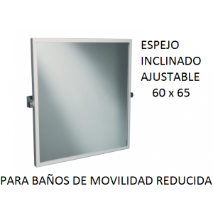 Espejo inclinado ajustable 60X65