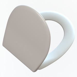 Asiento y tapa inodoro Universal  (sistema CLIPPOFF) Estambul caida amortiguada