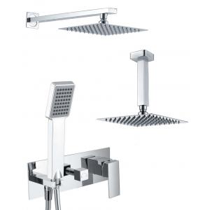 Conjunto ducha empotrado doble función compacto Noruega
