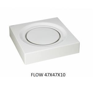 Lavabo Flow sobre mueble (47x47x10) UNISAN