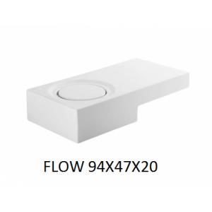 Lavabo Flow sobre mueble (94x47x20) UNISAN