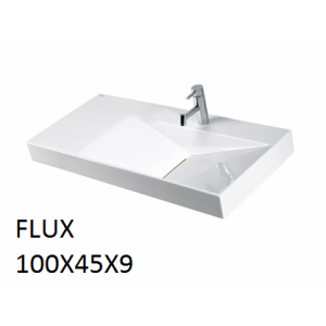 Lavabo Flux sobre mueble (100x45x9) UNISAN