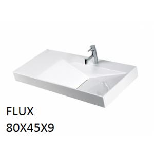 Lavabo Flux sobre mueble (80x45x9) UNISAN