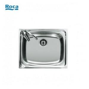 Fregadero Acero inox Roca s/ P-45   450x490x180  1 cubeta