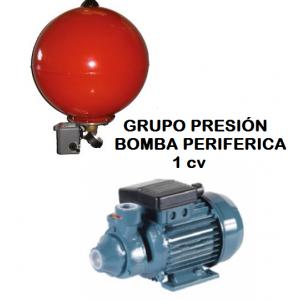 Grupo presión con bomba periférica  REP50